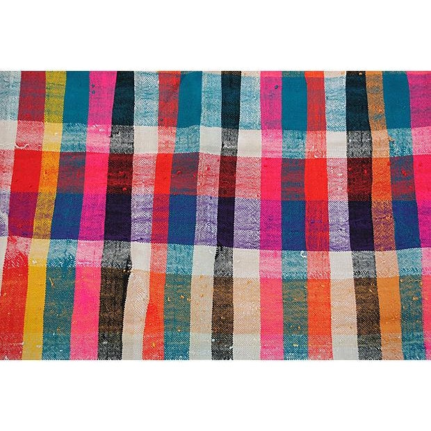 Moroccan Striped Blanket - Image 3 of 7
