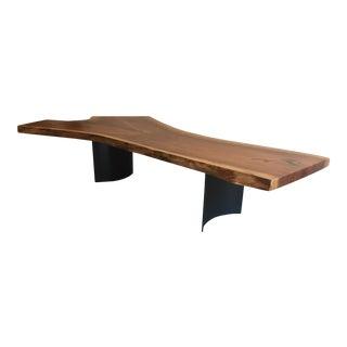 Urban Walnut Slab Coffee Table