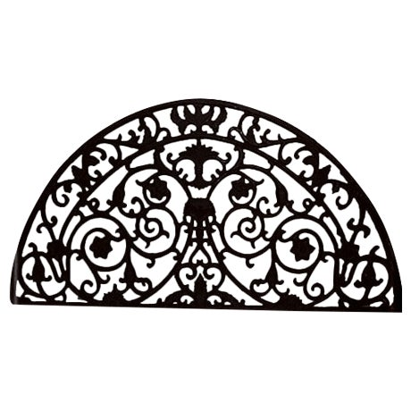 Image of Wrought Iron Transome Grille