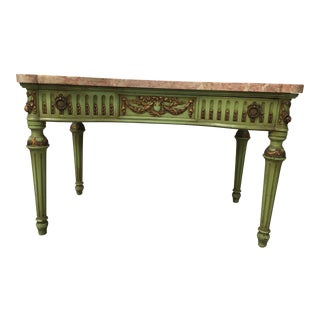 1920s Slack, Rassnick & Co. Gilt Wood Console Table