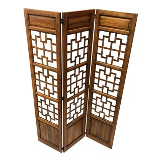 Vintage Asian Style Divider Screen