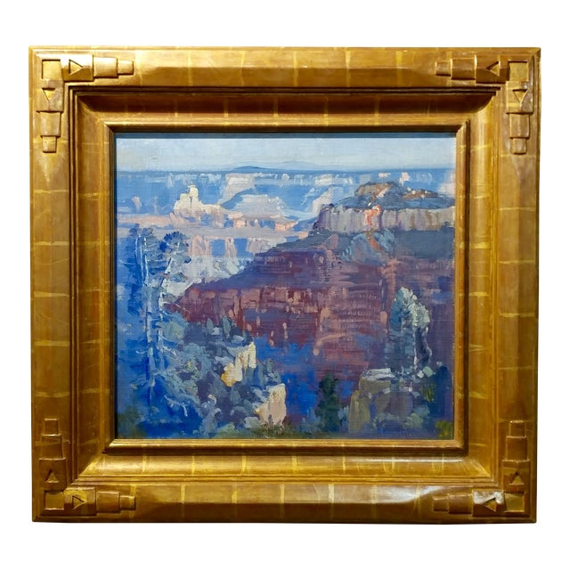 Fitch Fulton Grand Canyon Landscape Oil Painting - Image 1 of 11