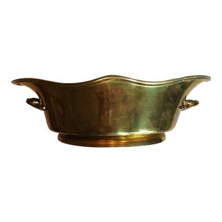 Vintage Brass Container Bowl