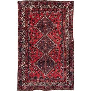 "Apadana - Vintage Persian Hamadan Rug, 6'1"" x 8'2"""