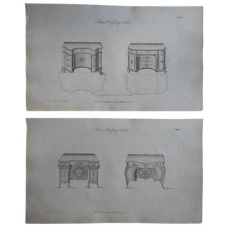 18th-Century Chippendale Furniture Engravings