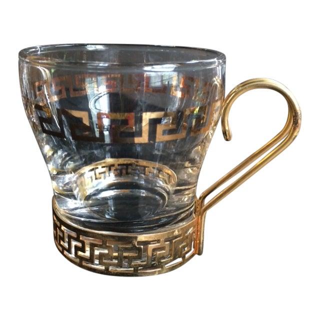 Greek Key Bar Mugs - Set of 5 - Image 1 of 4