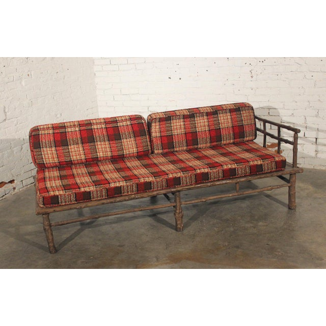 Sectional Sofas In Hickory Nc: Old Hickory Style Sofa, Chaise & Coffee Table - 3