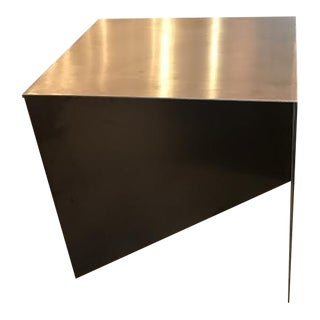 HD Buttercup Metal Zigzag Side Table