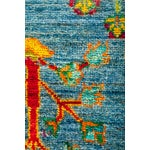 "Image of New Blue Hand-Knotted Rug - 4'1"" X 6'7"""