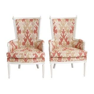 Bengal Bazaar Throne Chairs - A Pair