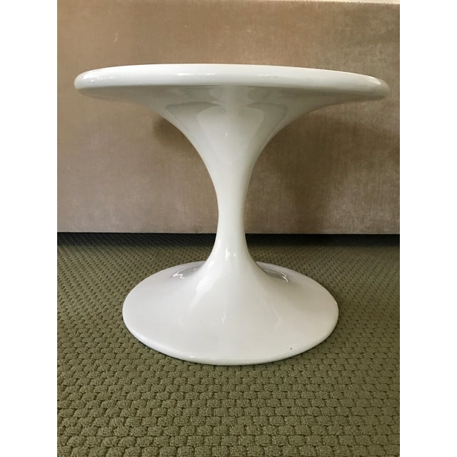 Saarinen Style Tulip Side Table - Image 7 of 8