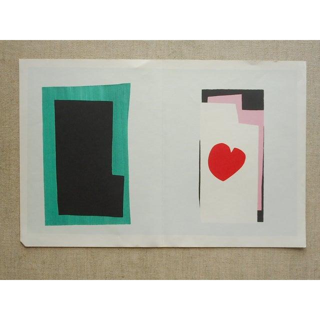 "Image of Vintage Folio Size Matisse Print ""Jazz"""
