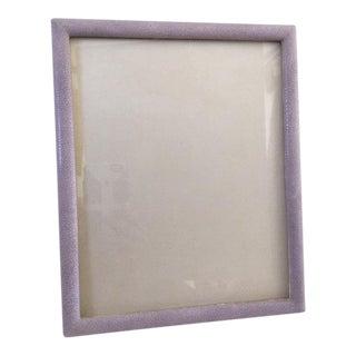 Lavender Shagreen Picture Frame