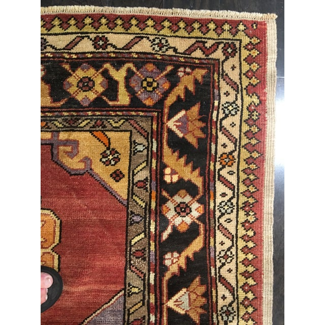 "Bellwether Rugs Vintage Turkish Oushak Runner - 5'8""x9'1"" - Image 10 of 10"
