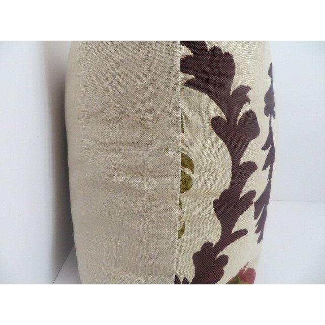 Quadrille Woven Designer Pillows - A Pair - Image 3 of 4