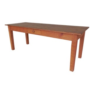 Custom Handmade Natural Pine Farm Table