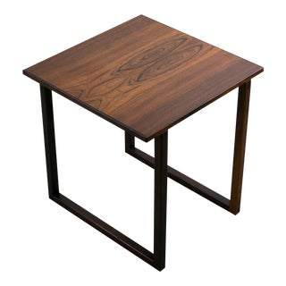 Mid Century Modern Brazilian Rosewood Accent Table