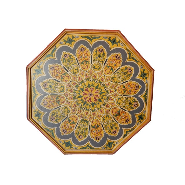 Moroccan 8 Sided Coffee Table - Image 9 of 10
