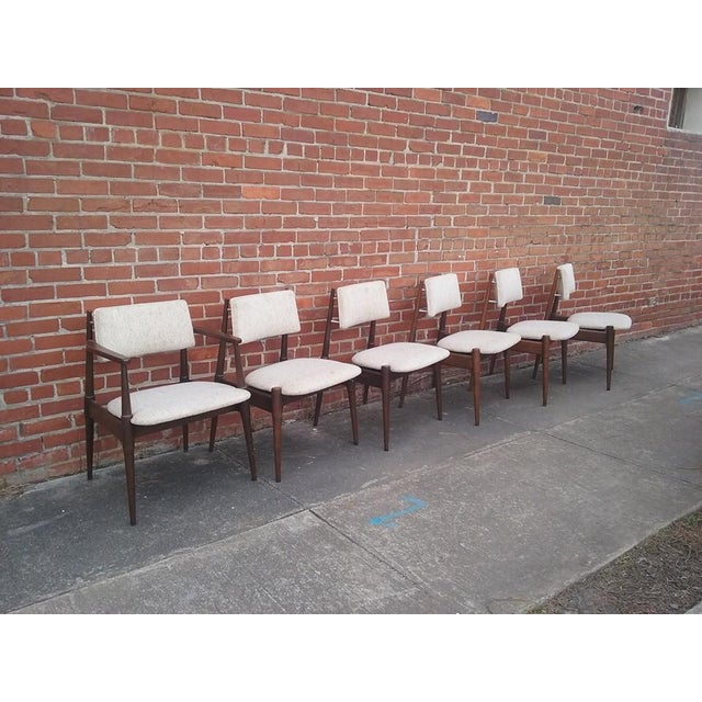 Image of Mid-Century Dining Chairs by Young - Set of 6