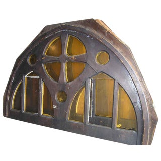 Large Gothic Arched Window