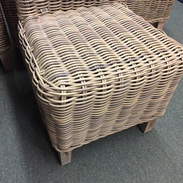 Restoration Hardware Majorca Side Chairs - Set of 4 - Image 3 of 11