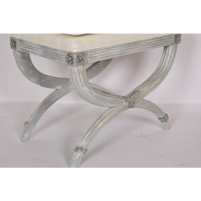 Louis XVI-Style Benches - Pair - Image 6 of 7