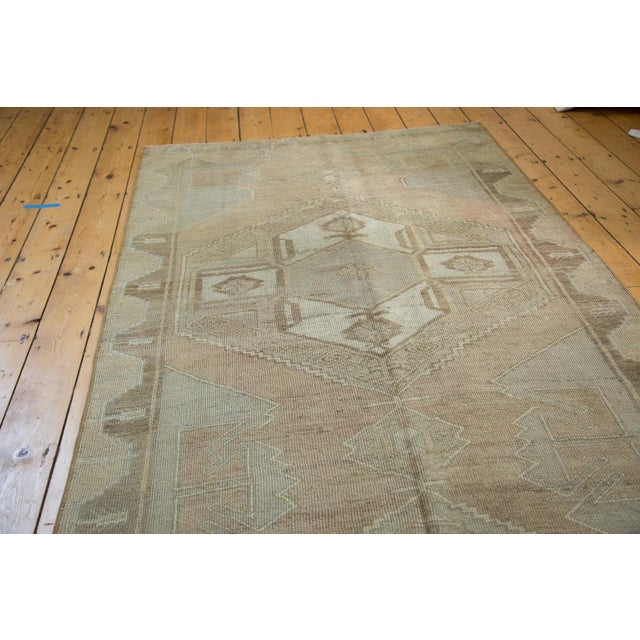 "Image of Distressed Oushak Runner - 4'7"" X 10'8"""