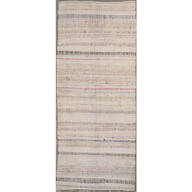 "Vintage Turkish Kilim - 3'6"" X 8'6"" - Image 2 of 3"