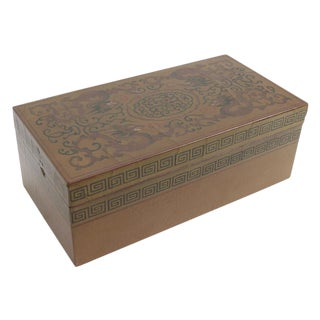 Dragon Lacquerware Box