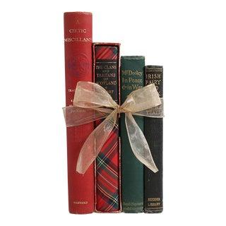 Vintage Book Gift Set: A Scotch & Irish Heritage - Set of 4