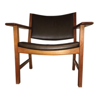 Hans Wegner Gatama Danish Modern Lounge Chair