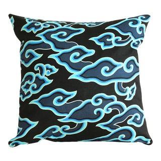 Boho Indigo Batik Pillow Cover