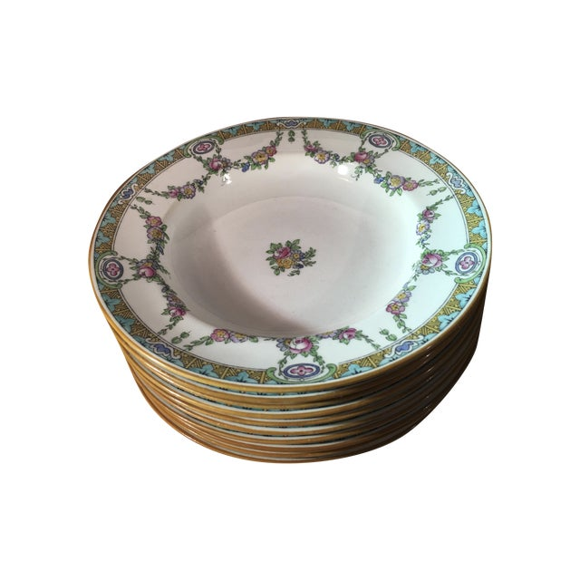 Antique Minton B935 Soup Bowls - 10 - Image 1 of 9
