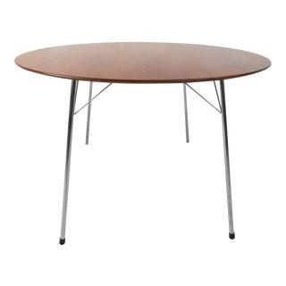 Mid-century Modern Teak Dining Table by Arne Jacobsen for Fritz Hansen