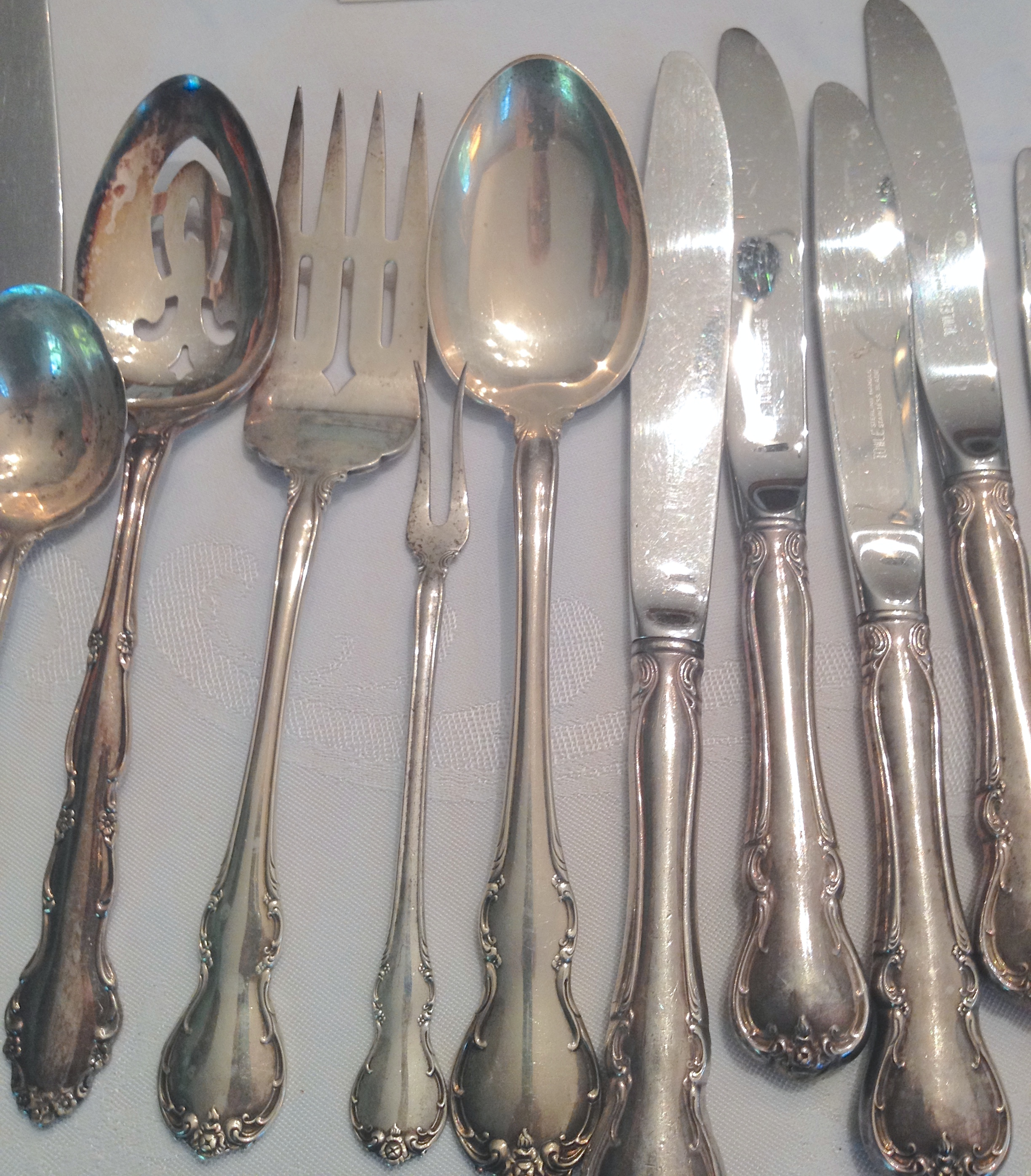 towle sterling silver flatware silverware set 46 pcs image 5 of 10