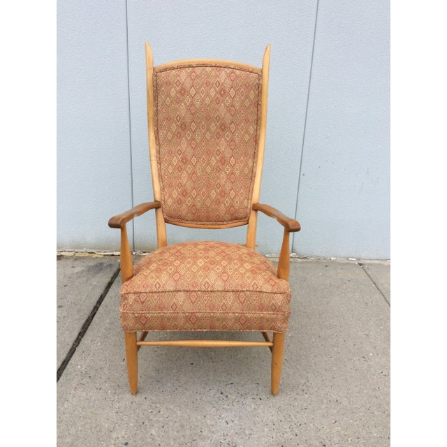 Edward Wormley High Back Lounge Chair - Image 3 of 8