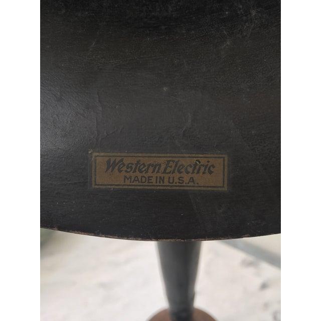 Vintage Western Electric Gamaphone Horn on Metal Base - Image 7 of 8
