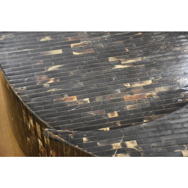Tessellated Horn Coffee Table - Image 9 of 9
