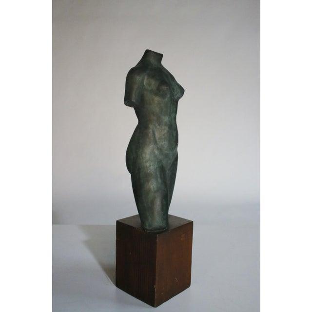 Midcentury Ceramic Female Torso Sculpture Chairish