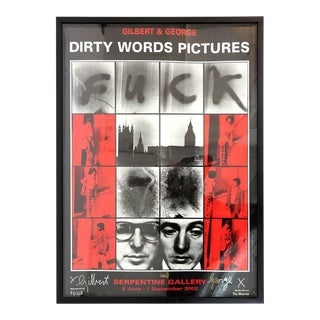 """Dirty Words Pictures Fuck"" by Gilbert & George"