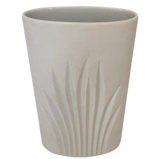 Rosenthal White Matte Glaze Vase