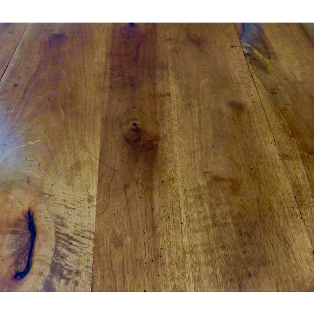 Antique French Walnut Drop Leaf Table - Image 7 of 7