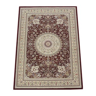 Traditional Red Medallion Rug - 8' X 11'