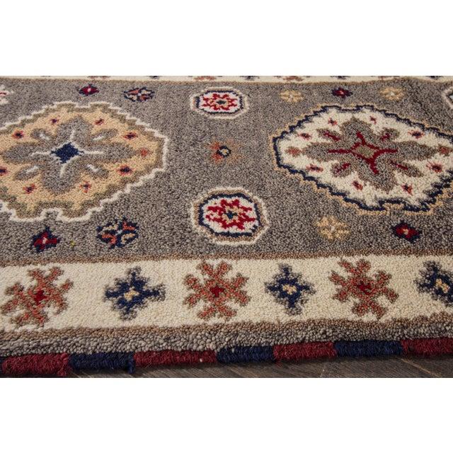 "Apadana - Modern Kazak Rug, 2'1"" x 6'6"" - Image 7 of 8"