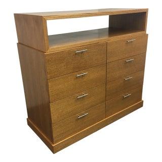 Custom Eight Drawer Oak Dresser