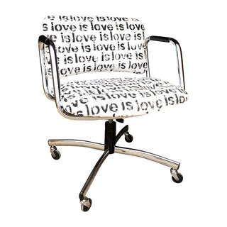 Mid-Century Custom Steelcase Office Chair
