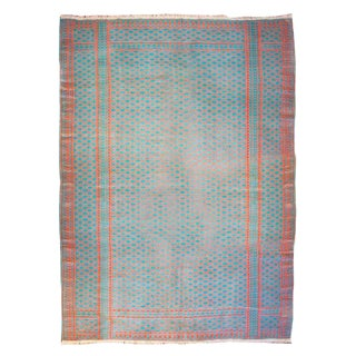Early 20th Century Saveh Kilim Rug