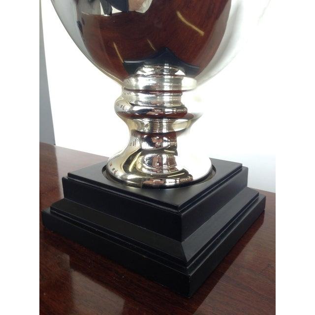 Mercury Glass Lamp - Image 4 of 5