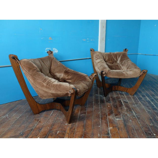 Luna Chairs by Odd Knutsen for Img Norway - A Pair - Image 8 of 10