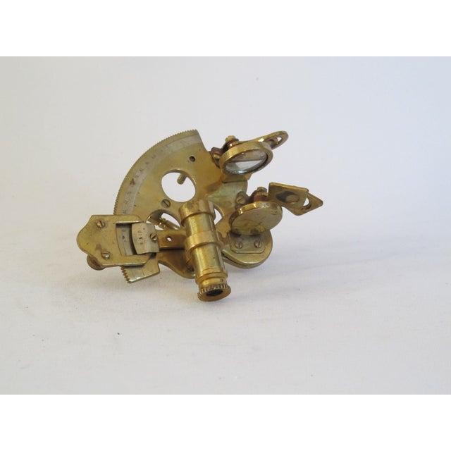 Brass Sailor's Sextant, Navigation Device - Image 2 of 9